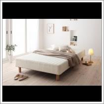 ヘッドレスボンネルコイルマットレスベッド