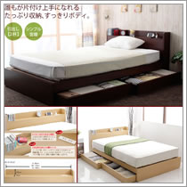 激安収納ベッド:ST03
