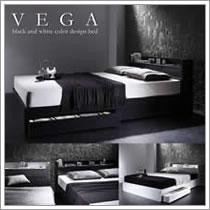 激安収納ベッド:ヴェガ