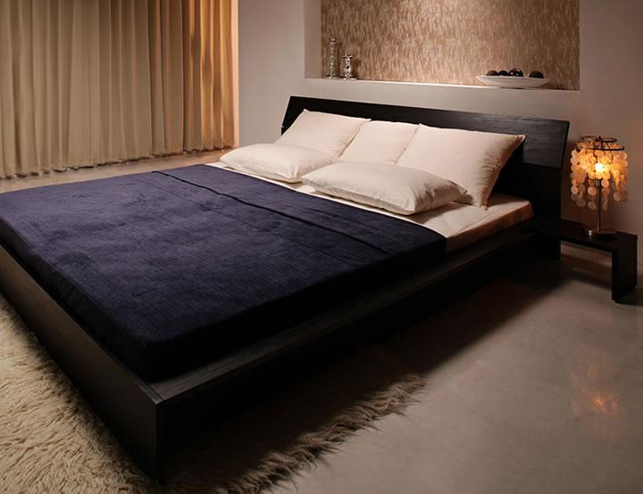 感 溢れる フロア ベッド 高級 ...