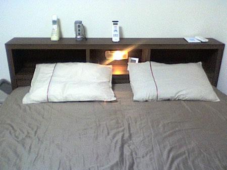 棚ライト付き・引出収納木製ベッド AVVRA クイーン 感想