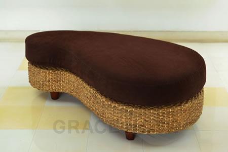 高級アジアン家具 グレースノート オットマン(ビーンズ) WS23-ST