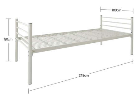 高さが選べるパイプミドルベッド 【SECT】 セクト サイズ