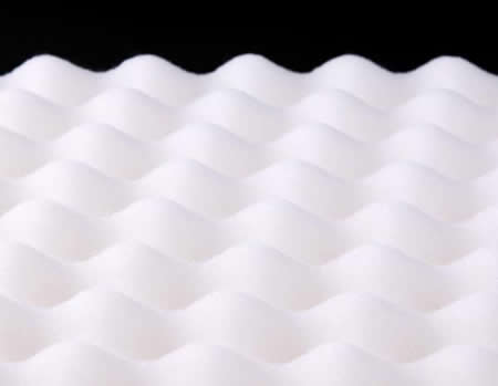 防ダニ・抗菌防臭4層式ボリューム羊毛混敷布団(ダブル) プロファイルウレタン