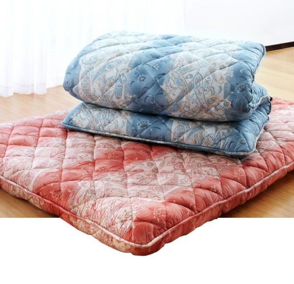 抗菌防臭防ダニ四層式ボリューム敷き布団 カラーは2種類