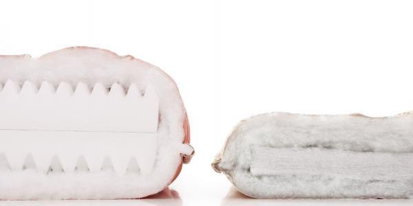 抗菌防臭防ダニ四層式ボリューム敷き布団 厚さの違い