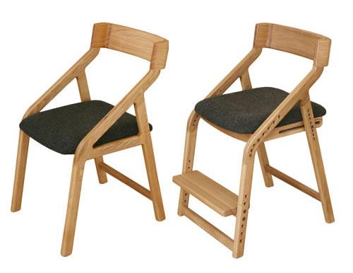 E-toko家具シリーズ 子供チェアー JUC-2170NA オトナチェアーと同じデザイン