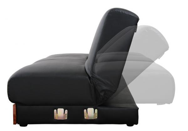 マルチソファベッド【GRANDY】グランディ/デイベッドタイプ リクライニング機能ついたソファ