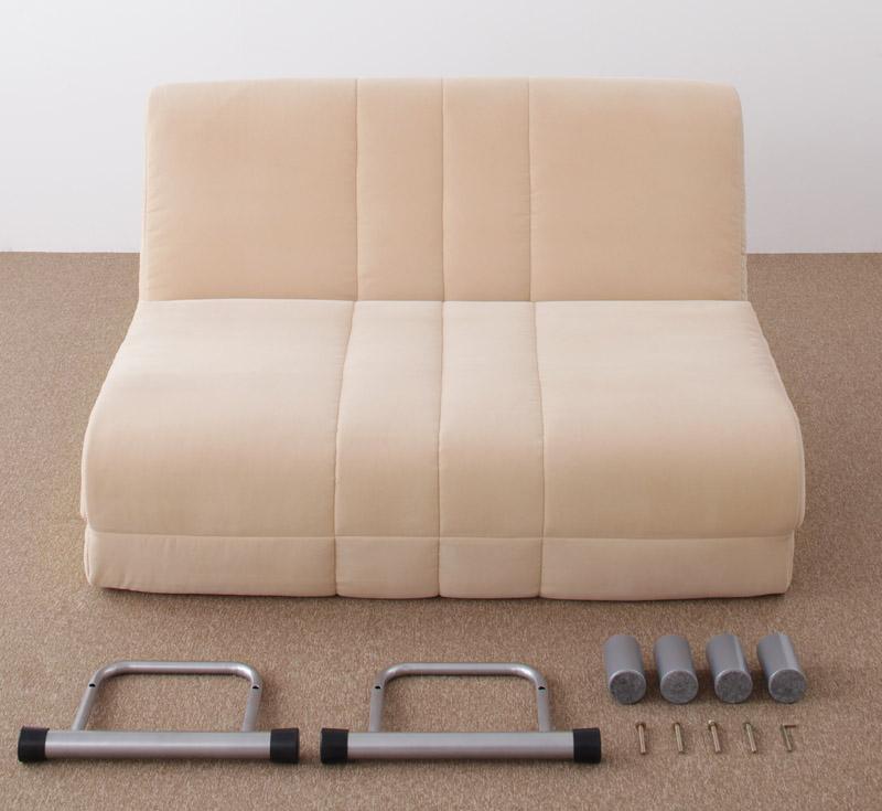 ソファ ダブルサイズ ソファーベッド : セミダブルサイズ カウチ ...