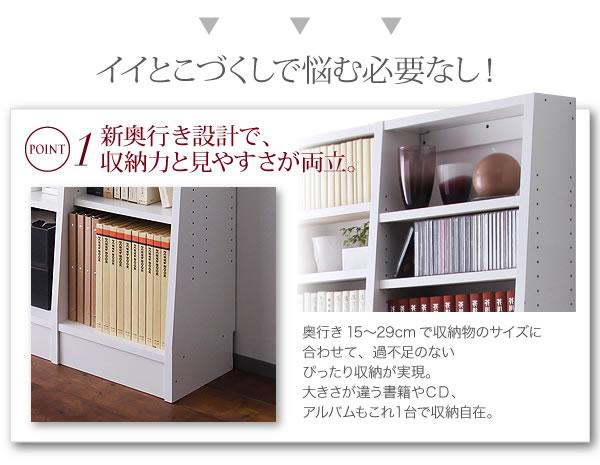 無限横連結本棚【+Plus】プラス 本体 説明3