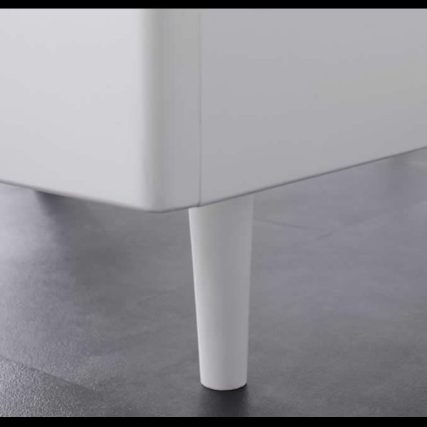 画像4: 棚・コンセント付きデザインすのこ仕様シングルベッド【Alamode】アラモード