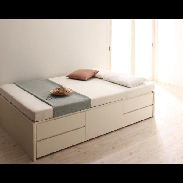 画像3: 日本製:ヘッドレスチェスト仕様シングルベッド 【zito】ズィート