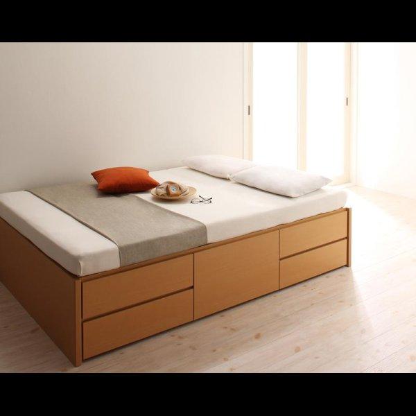 画像4: 日本製:ヘッドレスチェスト仕様シングルベッド 【zito】ズィート