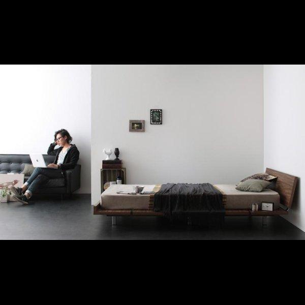 画像2: モダンデザインローベッド【E'-go】イーゴ