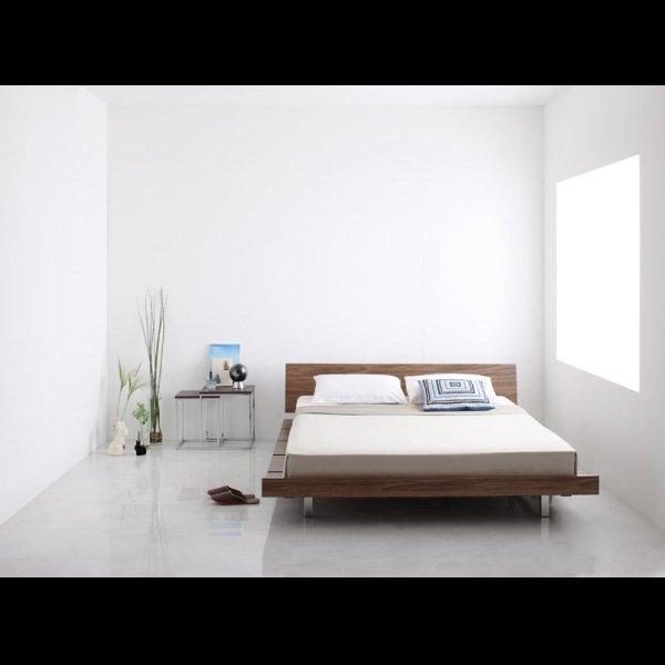 画像2: ロースタイル幅広すのこ仕様キングベッド