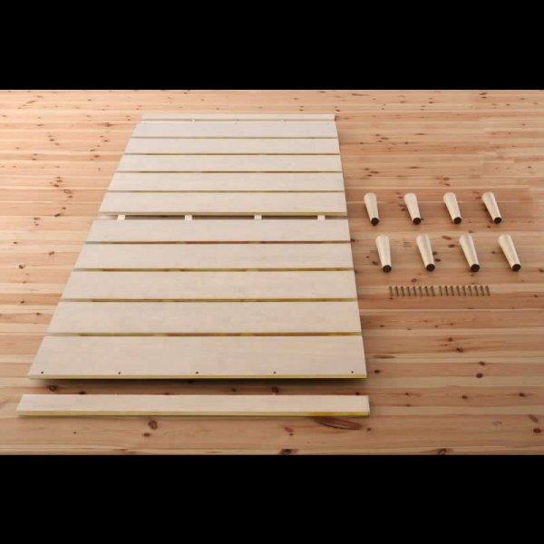 画像3: 北欧デザインヘッドレスタイプシングルベッド【Noora】ノーラ