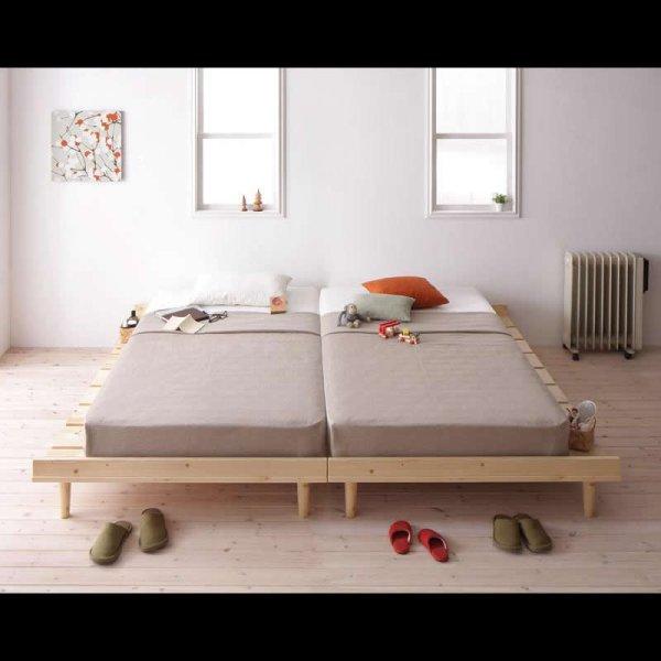 画像4: 北欧デザインヘッドレスタイプシングルベッド【Noora】ノーラ
