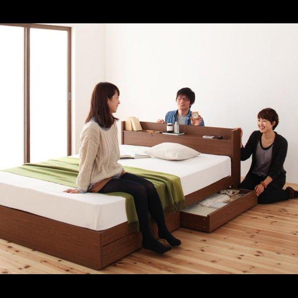 画像2: 高品質収納タイプシングルベッド【S.leep】エス・リープ