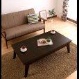 画像5: 天然木エクステンションリビングローテーブル 【Paodelo】パオデロ Sサイズ(W80-130) (5)