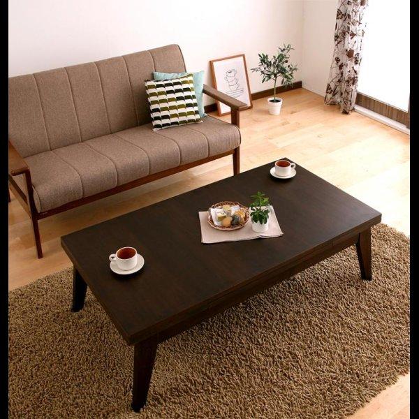 画像5: 天然木エクステンションリビングローテーブル 【Paodelo】パオデロ Sサイズ(W80-130)