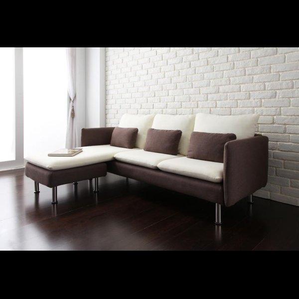 画像5: お部屋のグレードをアップ!モダンデザインコーナーカウチソファ【Monte】モンテ