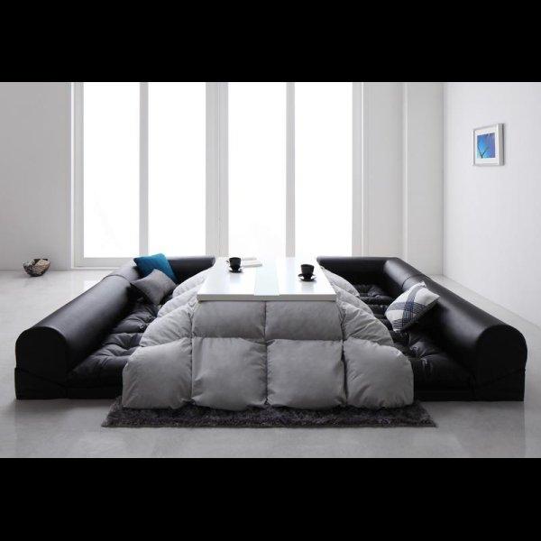 画像5: レザータイプフロアコーナーソファー【space】スペース 選べるタイプ