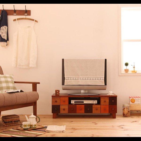 画像1: 天然木北欧デザインテレビボード【Bisca】ビスカ 幅90