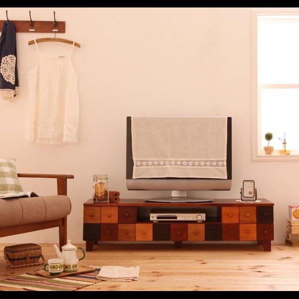 画像1: 天然木北欧デザインテレビボード【Bisca】ビスカ 幅120