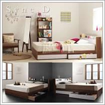 激安収納ベッド:シンクディ