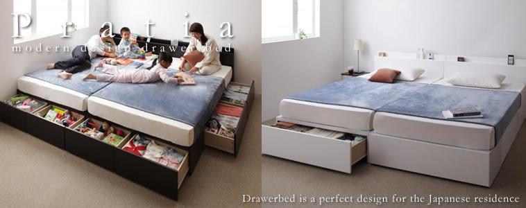 収納ベッド:キングサイズのおすすめベッド