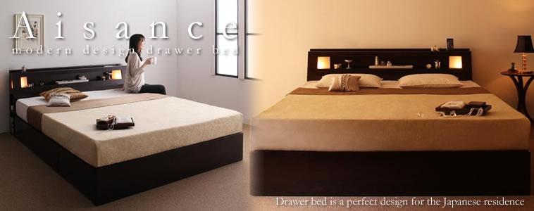 収納ベッド:クイーンサイズのおすすめベッド