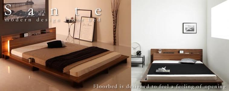 フロアベッド:ダブルサイズのおすすめベッド