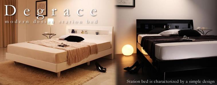 脚付きベッド:ダブルサイズのおすすめベッド