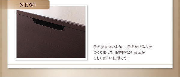 日本製ガス圧式収納ベッドの説明