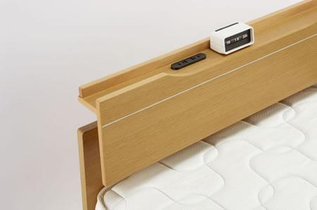 ASLEEP ベッド フィオラ トヨタグループのアイシン精機が製造
