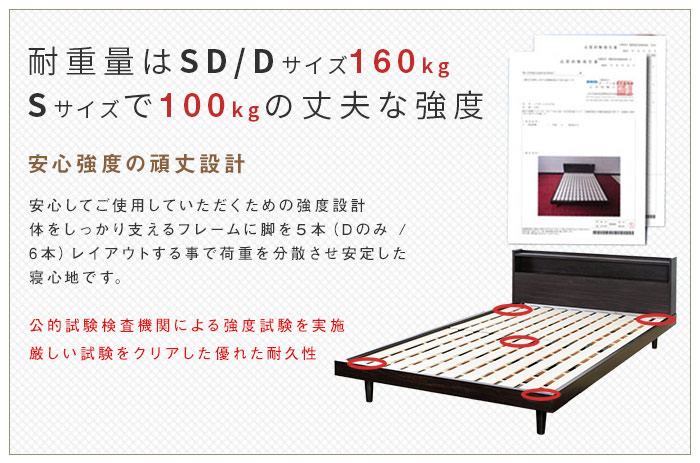 ヴィンテージデザイン頑丈すのこダブルベッド【Laius】ライオスの激安通販