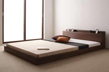 連結タイプフロア仕様セミシングルベッド【LAUTUS】ラトゥース