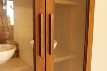 アルダー材仕様キッチン収納家具シリーズ5