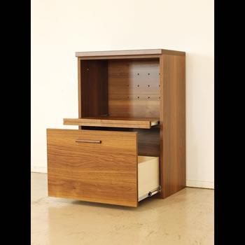 アルダー材仕様キッチン収納家具シリーズ14