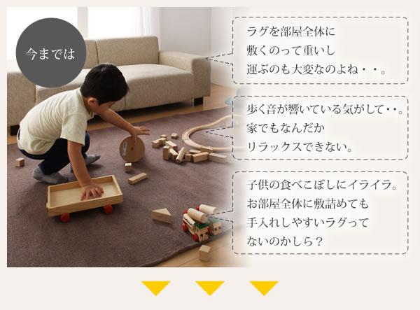 防音・防ダニ・防炎・制電機能付きタイルカーペット【silenta】シレンタの激安通販