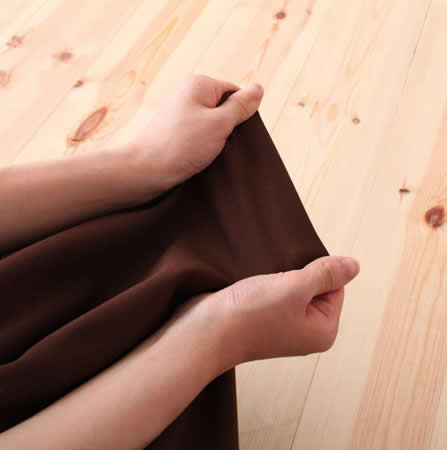 低反発素材使用。リクライニング機能付きコーナーソファー ストレッチ素材使用