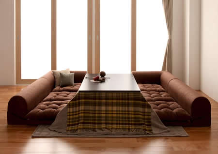 フロアコーナーソファー【moffy】モフィ いろいろな使い方ができます。