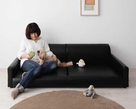激安ローソファ―【amiche】アミーチェ 2人掛け/3人掛け