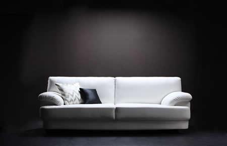 フランス産フェザー使用 モダンデザインソファー 160cm イメージ画像