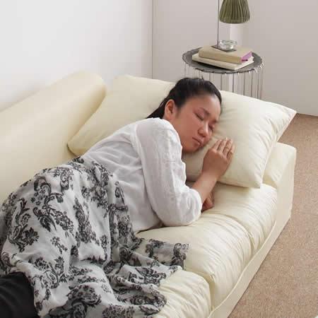 フロアコーナーソファー:幅広タイプ 【Solid】 ソリッド