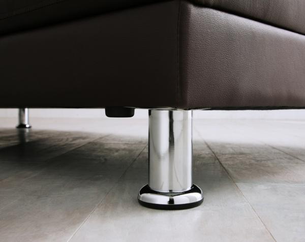 収納付きマルチソファーベッド【AMBER】アンバー 脚は取り外し可能です