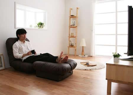 コーナーリクライニングソファー「feeta」フィータ リビングと個室で使用など