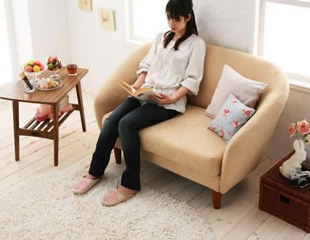 デザインソファー【macaron】マカロン くつろげるソファー