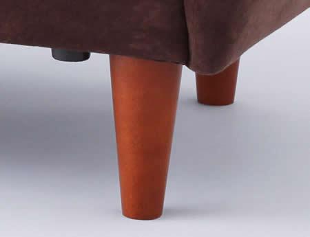 デザインソファー【macaron】マカロン おしゃれな天然木を使用