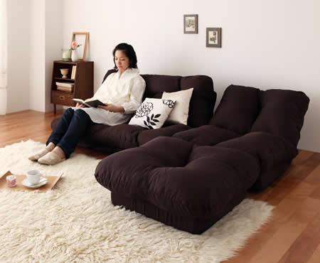 フロアコーナーカウチリクライニングソファ【tafito】タフィト 一般的なソファースタイル